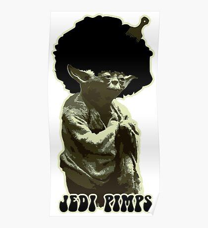 Yoda Jedi Pimps Poster