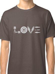 Motorcycle Love. Biker T-shirt Classic T-Shirt