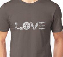 Motorcycle Love. Biker T-shirt Unisex T-Shirt