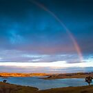 Rainbow Over Windamere by Deborah McGrath