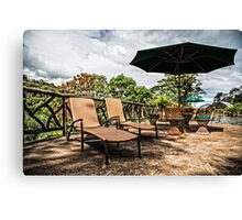 Just Lounging Canvas Print