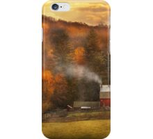 Autumn - Farm - Morristown, NJ - Charming farming iPhone Case/Skin