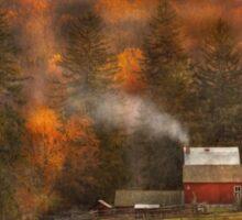 Autumn - Farm - Morristown, NJ - Charming farming Sticker