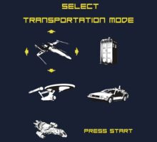 Sci-fi Transportation Modes by silentrebel