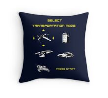 Sci-fi Transportation Modes 1 Throw Pillow