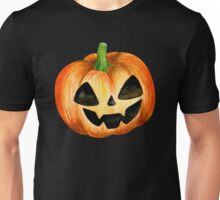 Halloween watercolor pumpkin Unisex T-Shirt