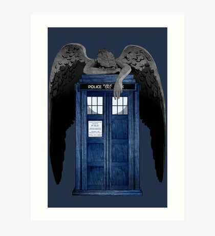 Weeping For The Doctor Art Print
