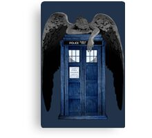 Weeping For The Doctor Canvas Print