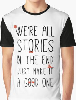 DOCTOR WHO STORIES Graphic T-Shirt