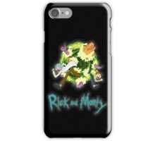 Rick and Morty (BLACK) iPhone Case/Skin