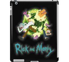 Rick and Morty (BLACK) iPad Case/Skin