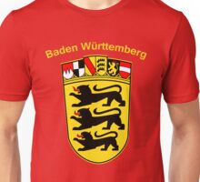 Baden Wurttemberg Coat Of Arms Unisex T-Shirt
