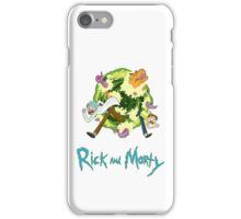 Rick and Morty (WHITE) iPhone Case/Skin