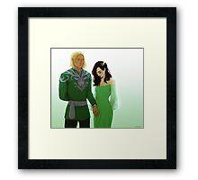 Lysaedion Framed Print