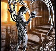 Cyberpunk Painting 034 by Ian Sokoliwski