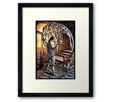 Cyberpunk Painting 034 Framed Print