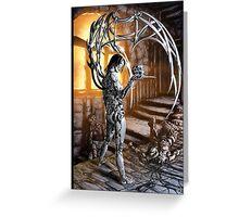 Cyberpunk Painting 034 Greeting Card