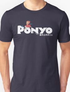 Ponyo fishy in the sea! Unisex T-Shirt