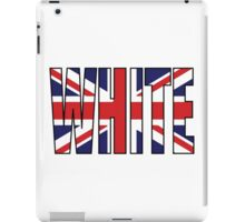 White (UK) iPad Case/Skin
