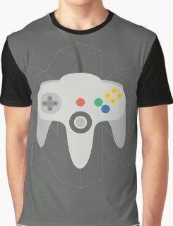 Nintendo 64 Controller Poster Graphic T-Shirt