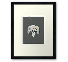 Nintendo 64 Controller Poster Framed Print