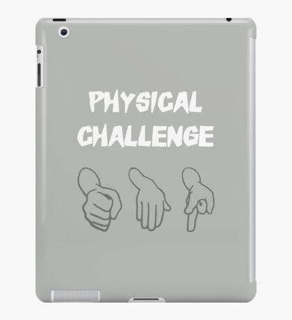 Physical Challenge iPad Case/Skin