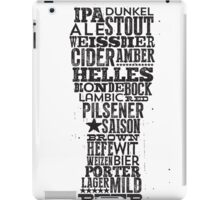 All Answers are in your beer glass iPad Case/Skin