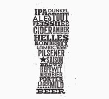 All Answers are in your beer glass by StudioSayDo