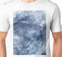 Abstract Clouds Over Ocean Satellite Image Unisex T-Shirt