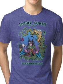 Angry Aurin Hard Cider Tri-blend T-Shirt