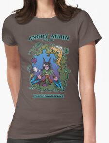 Angry Aurin Hard Cider Womens Fitted T-Shirt