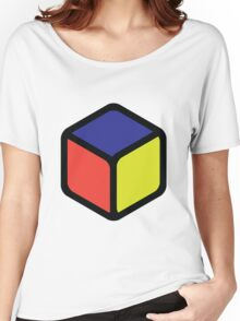 Cube Muted Tones Women's Relaxed Fit T-Shirt