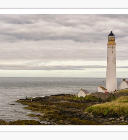 Scurdie Ness Lighthouse Sticker