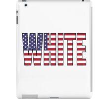 White (USA) iPad Case/Skin