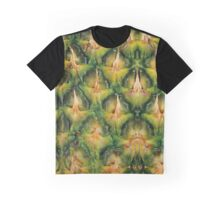 Pineapple Texture Graphic T-Shirt