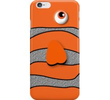 Orange ornamental fish cartoons iPhone Case/Skin