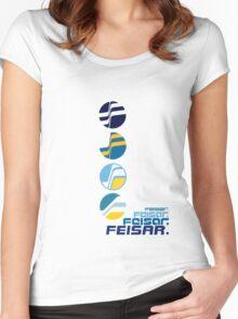 Feisar Team Logo Chronology Women's Fitted Scoop T-Shirt