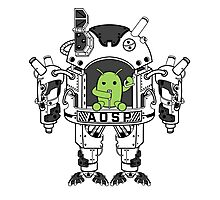 Android AOSP Mech Photographic Print