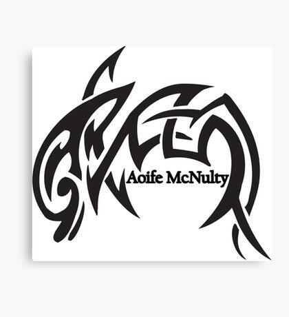 Aoife McNulty Logo Canvas Print