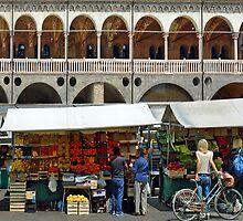Market in Padova - Italy by Arie Koene