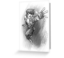 Keith - Voltron Greeting Card