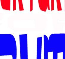 LIBERTARIAN FOR TRUMP 2016 Sticker