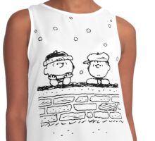 Charlie Brown and Linus Contrast Tank