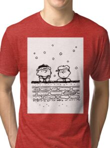 Charlie Brown and Linus Tri-blend T-Shirt
