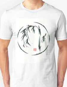 VISIONARY Original sumi-e enso ink brush wash painting Unisex T-Shirt