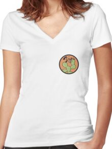Zion National Park Women's Fitted V-Neck T-Shirt