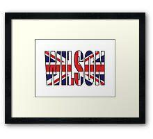 Wilson (UK) Framed Print