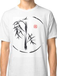 PASSAGE  - Original sumi-e enso ink brush art Classic T-Shirt