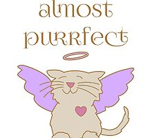 Almost Purrfect Angel Cat by Sue Cervenka