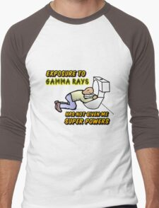 Radiation therapy Men's Baseball ¾ T-Shirt